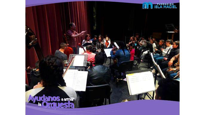 ¡Ayudanos a armar la orquesta!