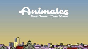 """Animales"" novela gráfica"
