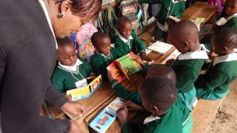 Corre por educación en Kenia