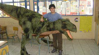 Viaje de mi Tiranosaurio