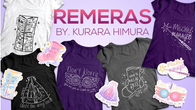 Remeras by Kurara Himura