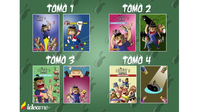 Resurreccion Chona's comics