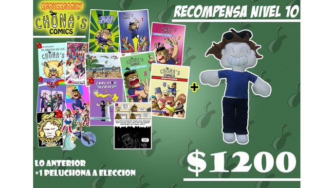 Resurreccion Chona's comics