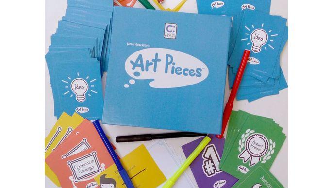 Art Pieces - Juego de Mesa