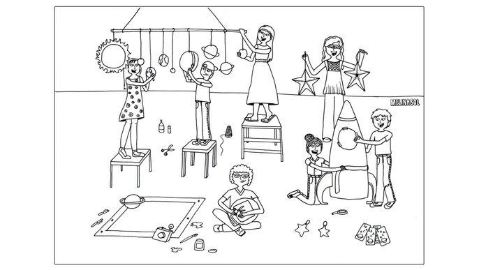 Dibujos de la vida