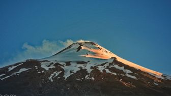 Cámara Volcán Villarrica Chile