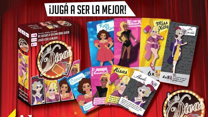 Las Divas, ¡juego de cartas!