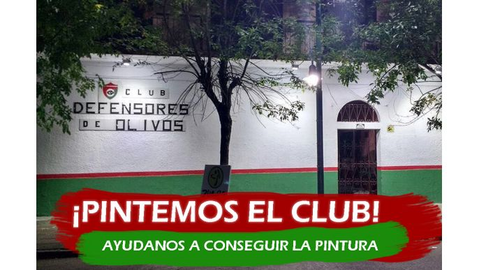 ¡Pintemos el club!