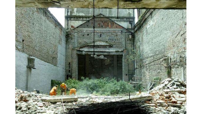 Reconstrucción Teatro Odeón