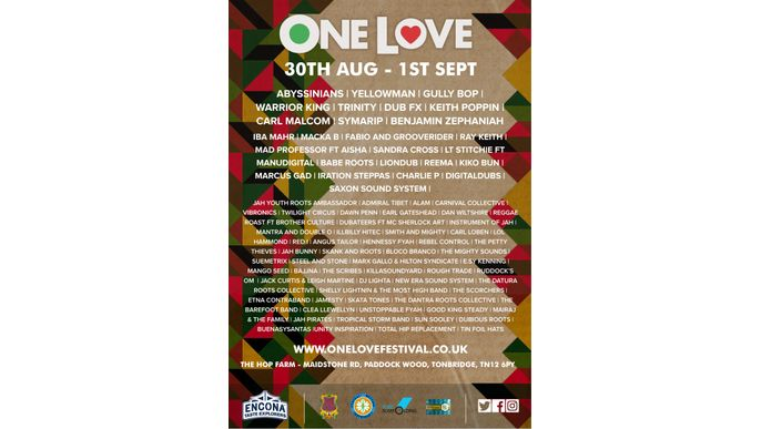 ¡Europe Tour & One Love Fest!