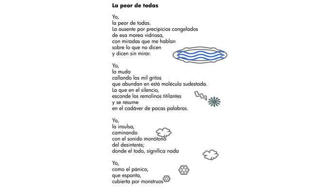 Dual language Poetry book
