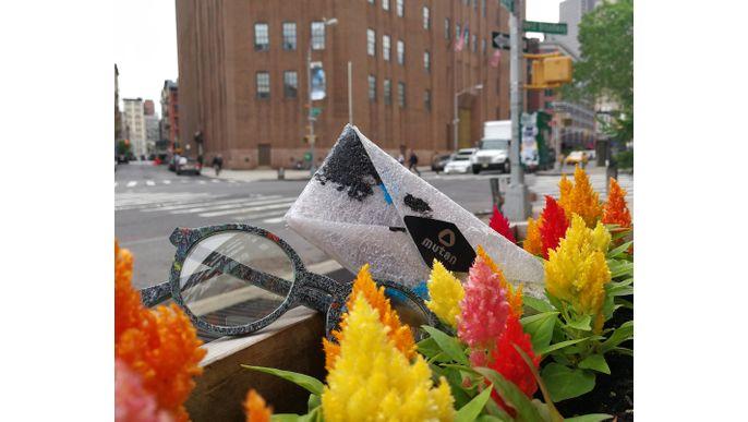 Anteojos de plastico reciclado