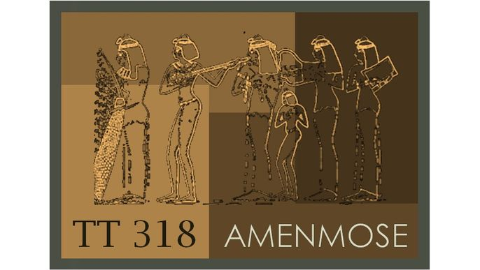 Amenmose Project. Egypt tomb