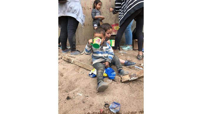 700 niños comerán con tu ayuda