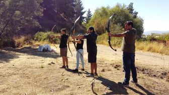 Soporte para el tiro con arco.