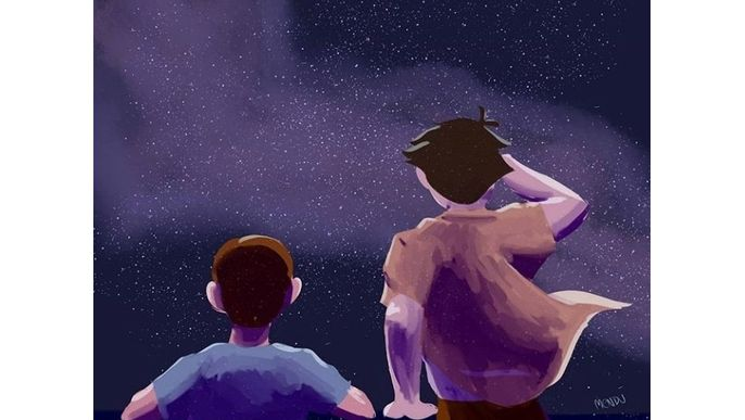 Stars and Freckles / corto