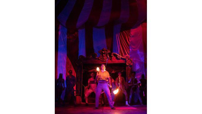 ¡Por la CARPA de Aruma Circo!