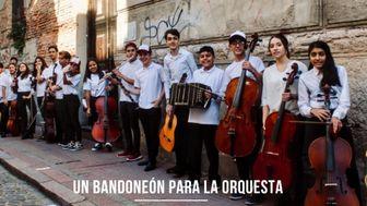 Un bandoneón para la orquesta