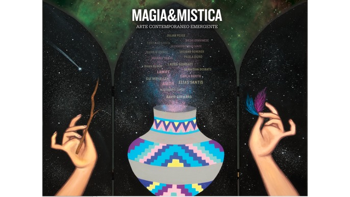 Magic and Mysticism art book
