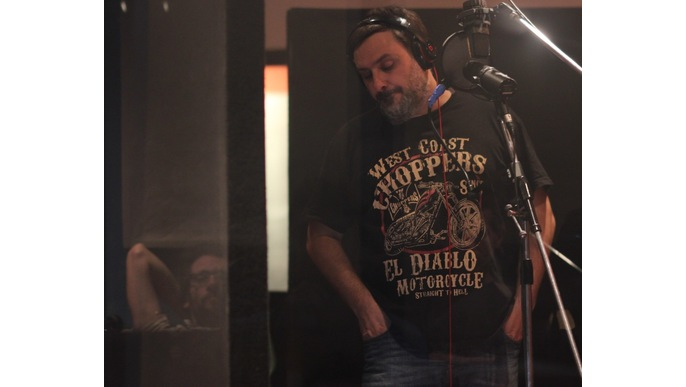 Santullo graba su nuevo disco