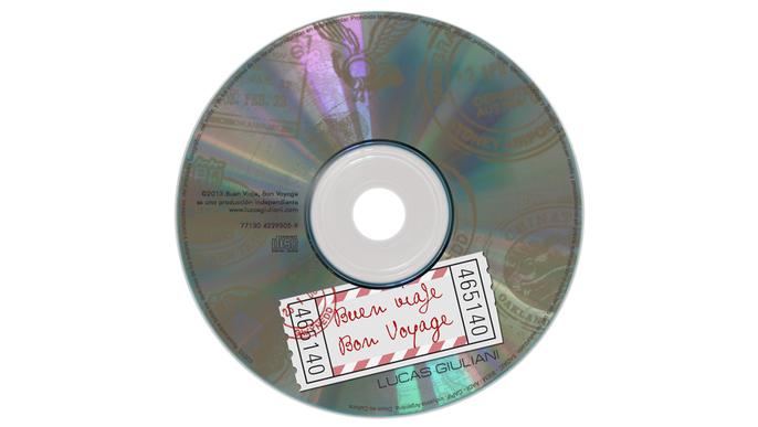 Primer CD de Lucas Giuliani