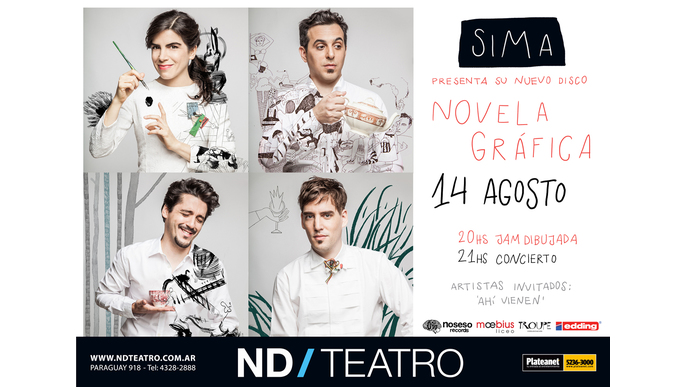 SIMA presents Novela Gráfica