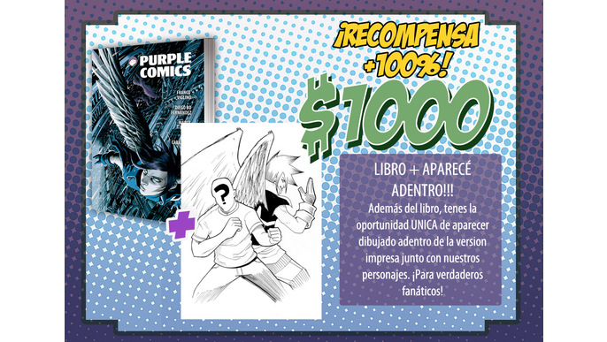 Purple Comics libro 2014!