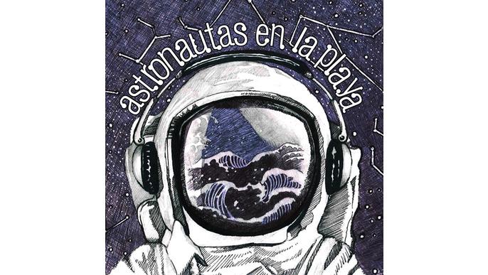 Astronautas en la playa