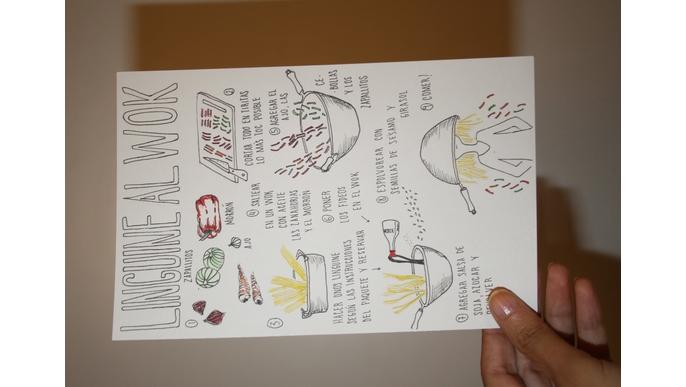Cocinar y Dibujar