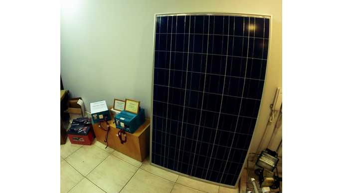 A solar panel for our home!