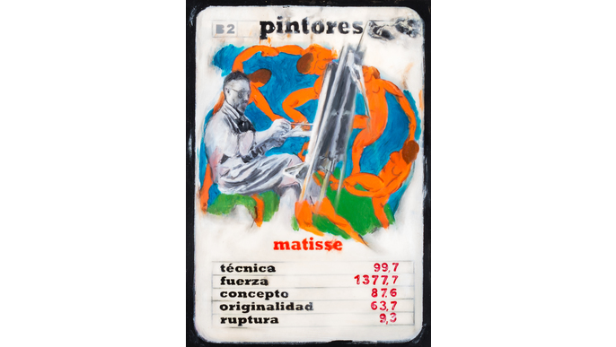 Painters, card game