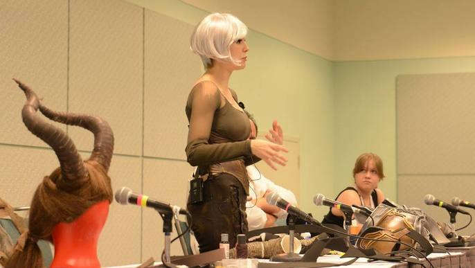 Armor making seminars @AX2015