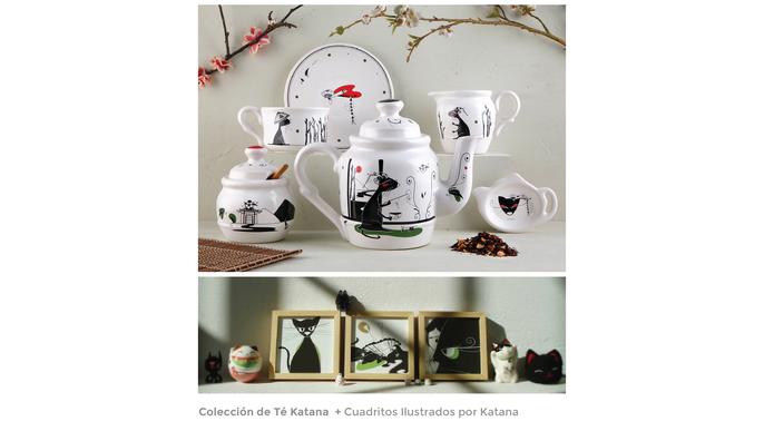 Amazónica :: vajilla + arte