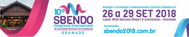 10° Sbendo - Congresso Internacional da Sociedade Brasileira de Endodontia