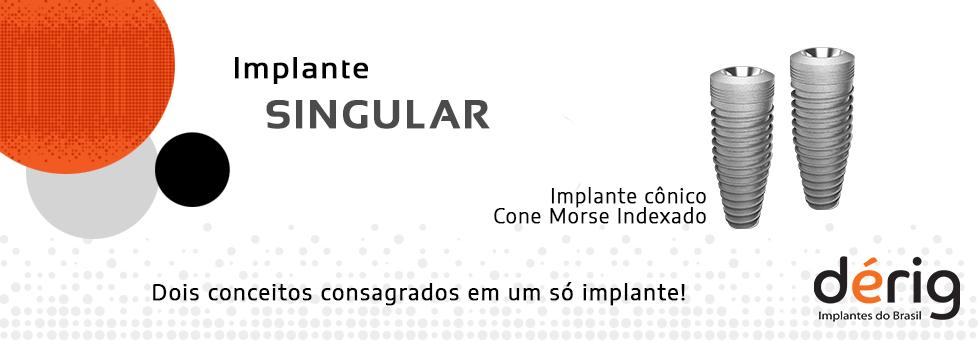 Implante Cone Morse Indexado Singular