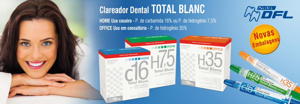 Clareador Total Blanc Home
