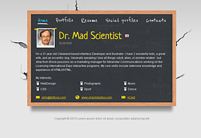 Scientist Theme