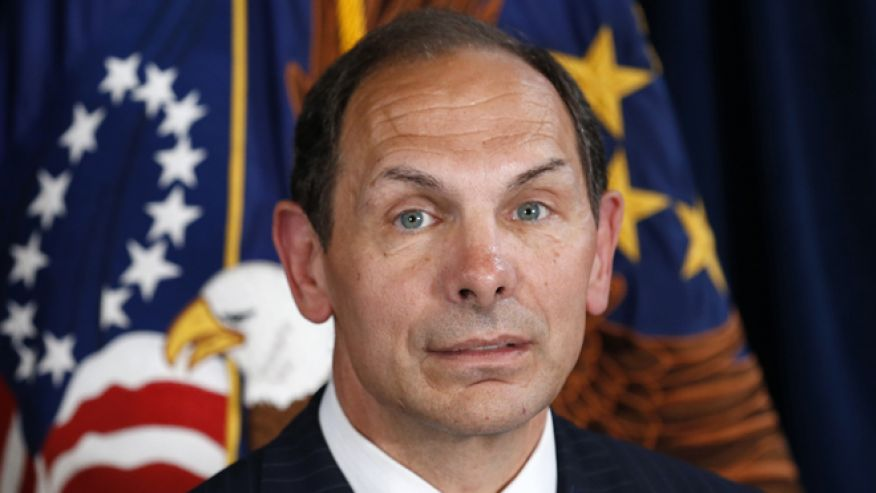Veteran Affairs Secretary Bob McDonald