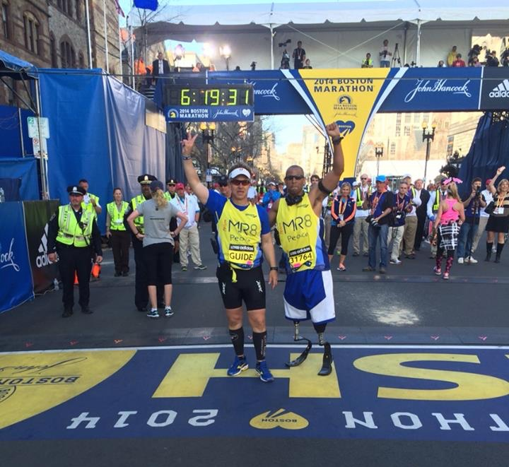 marathon line