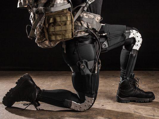 DARPA exosuit