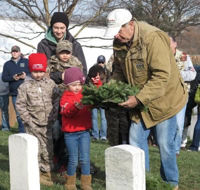 Photo Courtesy of Wreaths Across America's Twitter
