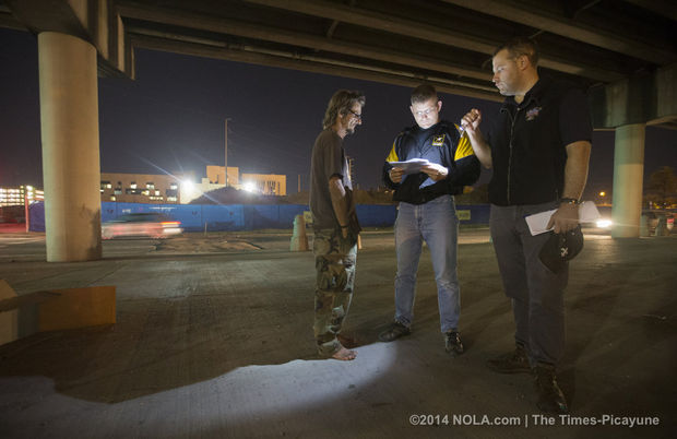 NOLA Homeless Veteran with Outreach