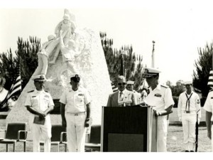 original corpsman monument