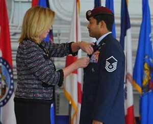 Ruiz awarded Air Force Cross