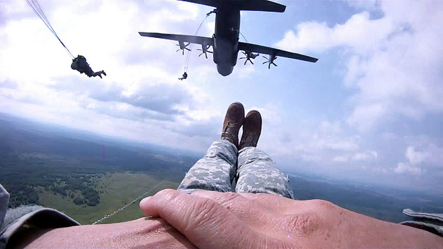 Through the eyes of a Paratrooper: 173rd jumps in Ukraine for Rapid Trident 2011