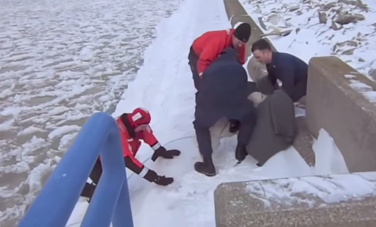 Coast Guard saves dog