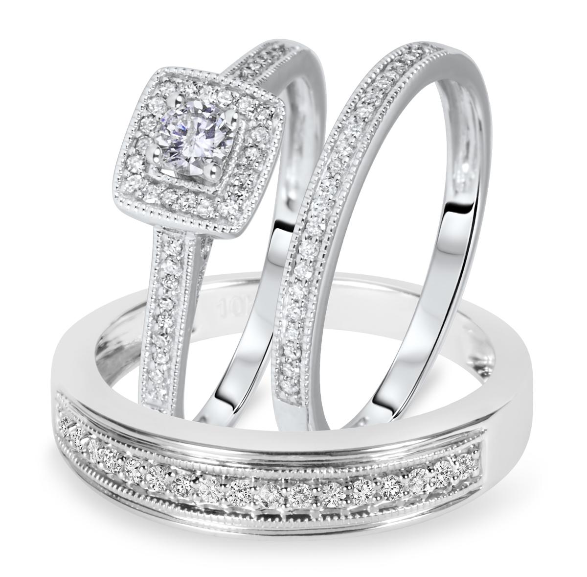 mtr-whitegold-ringset
