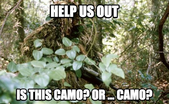 camo meme 5 memes for everyone sick of hearing about thedress the sitrep,Military Thanksgiving Meme