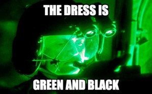 night vision meme dress