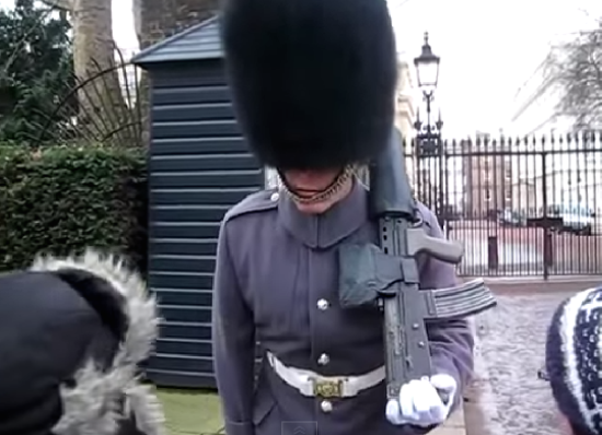 BRITISH ROYAL FOOT GUARD BLOWS TOP & DITCHES STOICISM - THE SITREP MILITARY BLOG